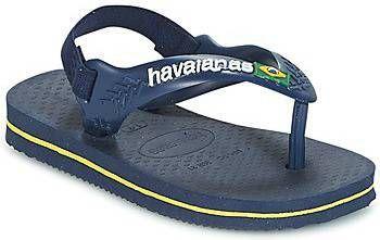 Havaianas-Slippers-Baby Flipflops Brasil Logo-Blauw online kopen