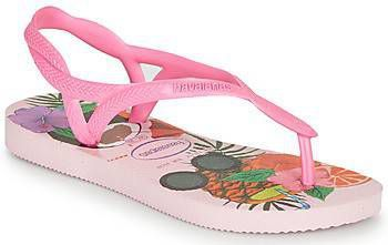 Havaianas Slippers Kids Flipflops Luna Print Crystal Roze online kopen