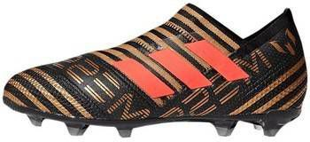 adidas NEMEZIZ Messi 17+ FG Kids Core Black Solar Red Tagome