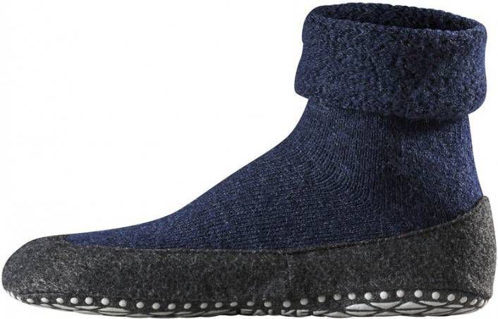 Falke Cosyshoes Pantoffels Anti-Slip Sok Donkerblauw online kopen