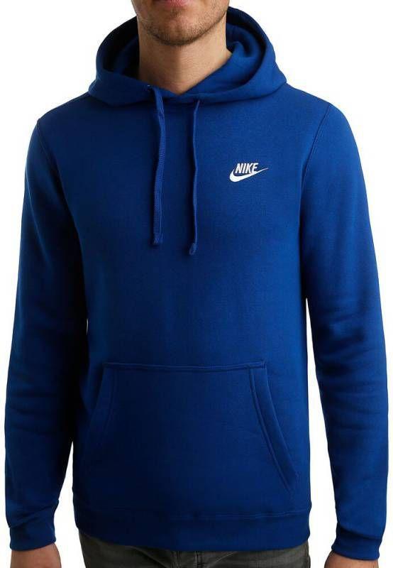 Nike Hoodie met rits en Futura logo in grijs 804389 063