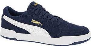 Puma Caracal SD suede sneakers donkerblauw/wit online kopen