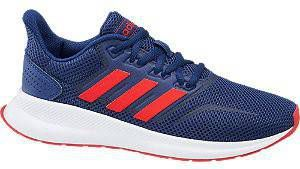 Adidas Performance Runfalcon hardloopschoenen donkerblauw kids