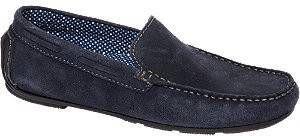 Am shoe Blauwe suède loafer maat 43 online kopen