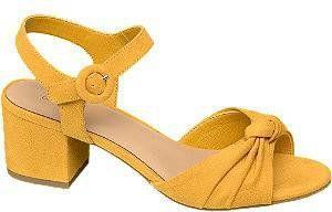 Gele sandalette Graceland maat 42 online kopen