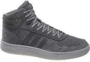 Adidas Hoops 2.0 Donker Grijze Hoge Sneakers