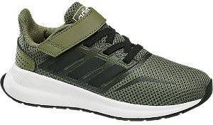 Adidas performance Runfalcon C Runfalcon C hardloopschoenen kakigroenzwart kids