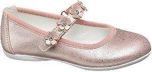 Roze metallic ballerina bloemen Cupcake Couture maat 26 online kopen