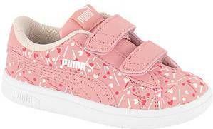 Roze Smash Confetti klittenband Puma maat 24