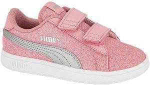 Puma Smash v2 Glitz Glam V PS sneakers roze/zilver online kopen