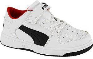 Puma Rebound Layup Lo SL V PS sneakers wit/zwart/rood online kopen