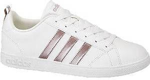 Adidas Vs advantage sneakers wit/goud dames