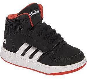 Adidas Hoops Mid 2.0 leren sneakers zwart