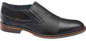 Am shoe Zwarte leren geklede instapper maat 41 online kopen