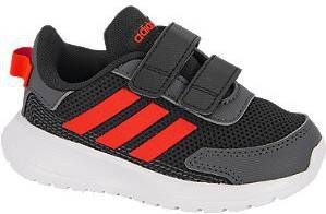 Adidas Performance Tensaur Run I hardloopschoenen zwart/rood kids online kopen