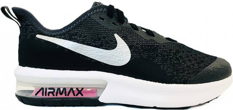 Nike Air Max Sequent 4 Herenschoen Zwart Vindjeschoen.nl