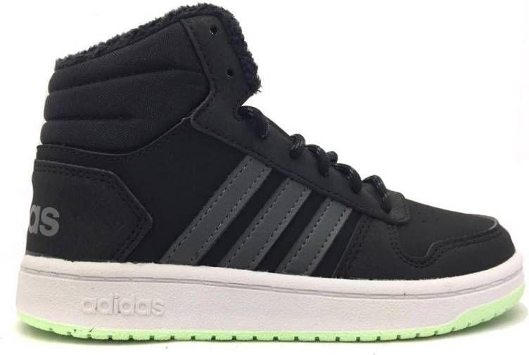 Adidas Hoops 2.0 sneakers zwartrood kinderen