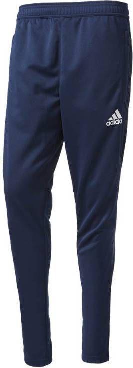 Adidas Tiro17 Trainingsbroek Knitted Collegiate Navy White