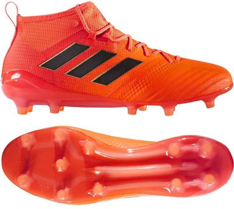 premium selection 783ef 571e0 Adidas ACE 17.1 PRIMEKNIT FG Solar Orange Core Black