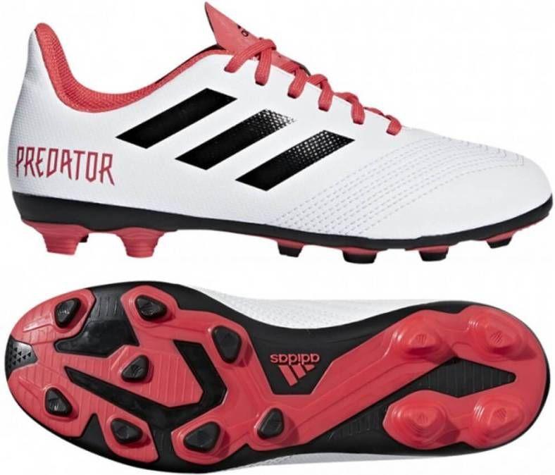 Adidas Predator 18.4 FxG Kids Future White Core Black Red