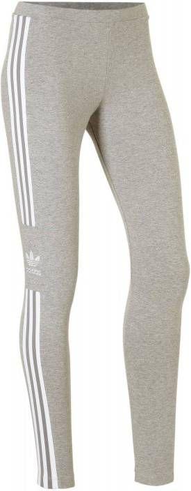 Adidas Originals 3 Stripes Trefoil Leggings Dames Grijs Dames