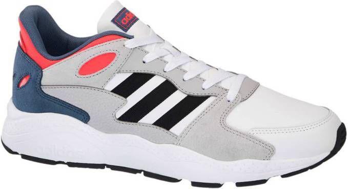Adidas hardloopschoenen Crazy Chaos heren wit/zwart maat 45 1/3