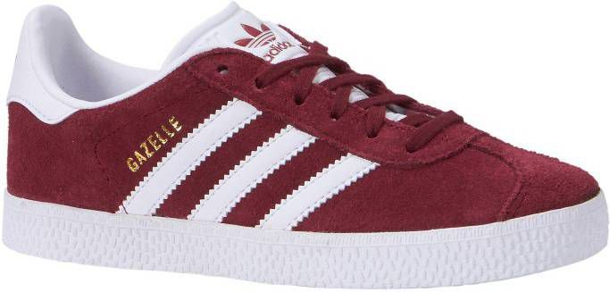 Adidas Originals Gazelle II Kinderen BurgundyWhite Kind