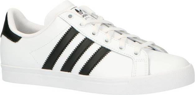 adidas originals Coast Star J sneakers witmintgroen | wehkamp