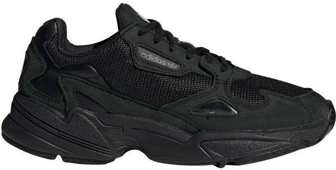 Adidas Originals Falcon Sneakers in zwart en wit