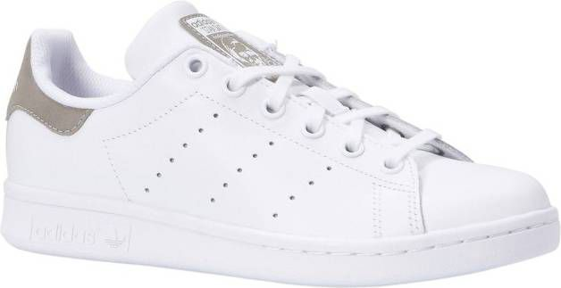 7d3a90a61588a7 Adidas originals Stan Smith J sneakers wit grijs - Frontrunner.nl