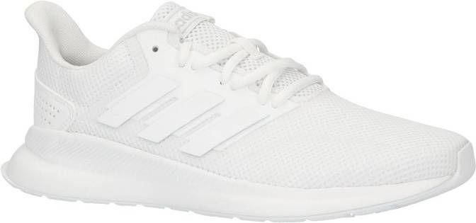 Adidas performance Runfalcon hardloopschoenen wit