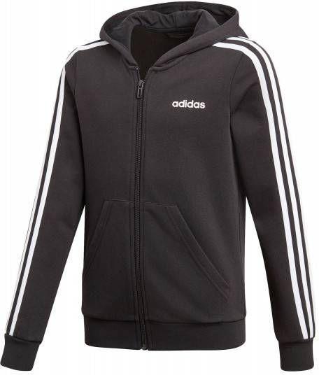 Adidas Essentials 3 Stripes Full Zip Hoodie Meisjes
