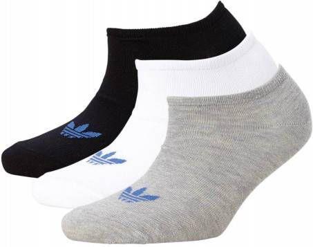 Adidas Originals Set van 3 paar Liner Trefoil sokken Wit Heren