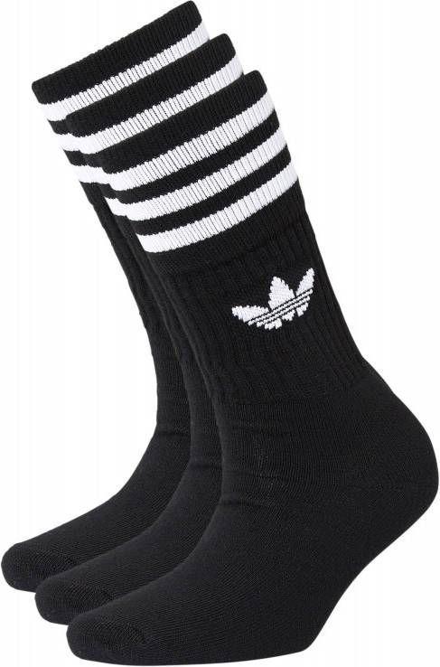 bbd9e46a317 Adidas Originals 3 paar sokken Zwart Heren - Vindjeschoen.nl