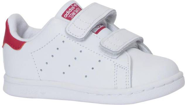 99fbb83f4af Adidas Originals Stan Smith Velcro Baby's Wit Kind - Frontrunner.nl
