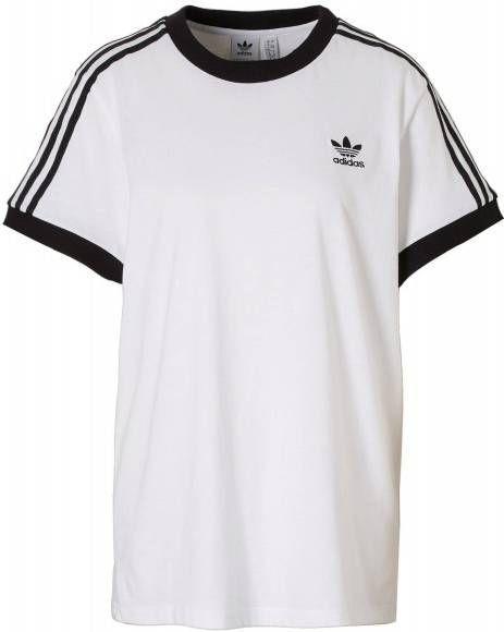 Adidas Originals 3-Stripes California T-Shirt Dames Wit Dames