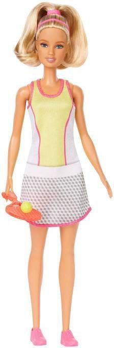 Barbie tienerpop You can be anything: Tennisster 30 cm online kopen