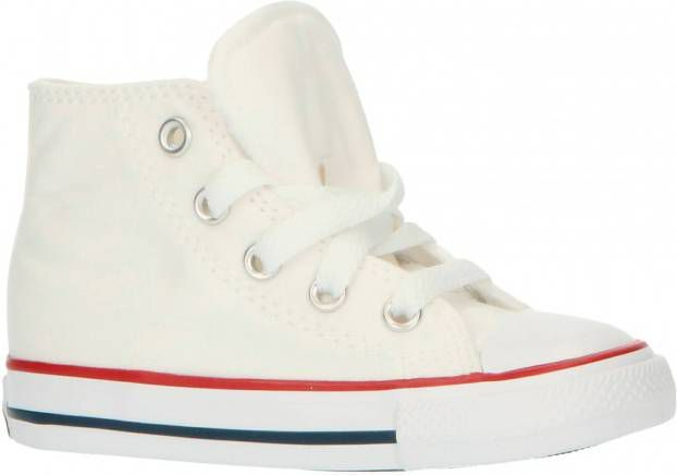 Converse All Star Hi Baby's Optical White/Red/Blue Kind