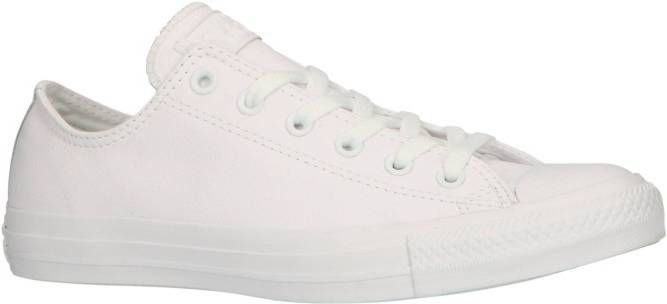 Converse All Star Leather Ox voor dames Wit Dames