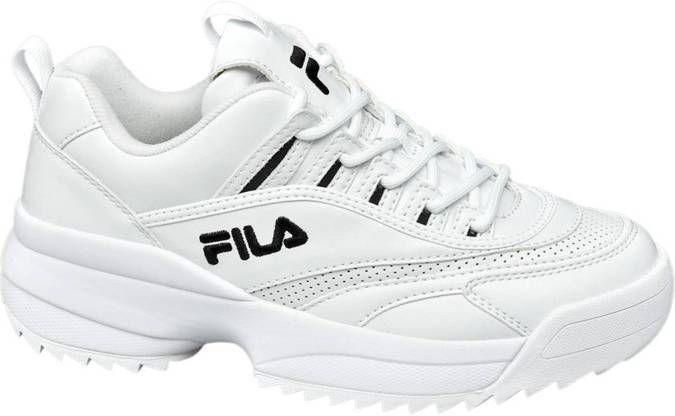 fila chunky sneakers wit Shop Clothing