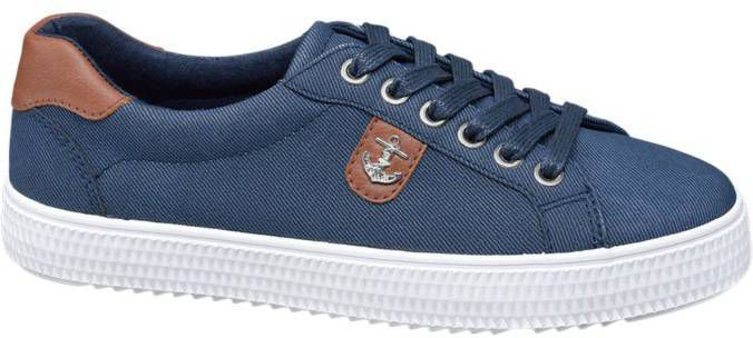 Blauwe sneaker anker COLLECTIES Online exclusive