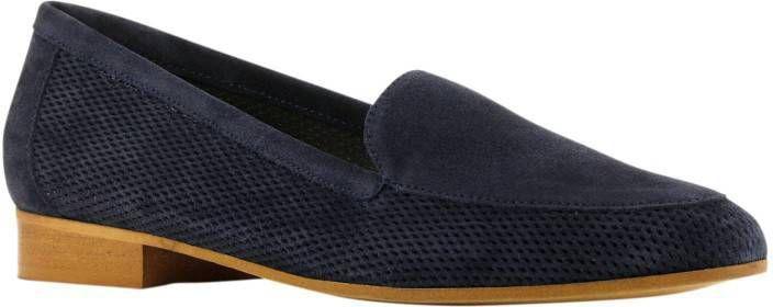 Lamica Nico suède loafers donkerblauw online kopen