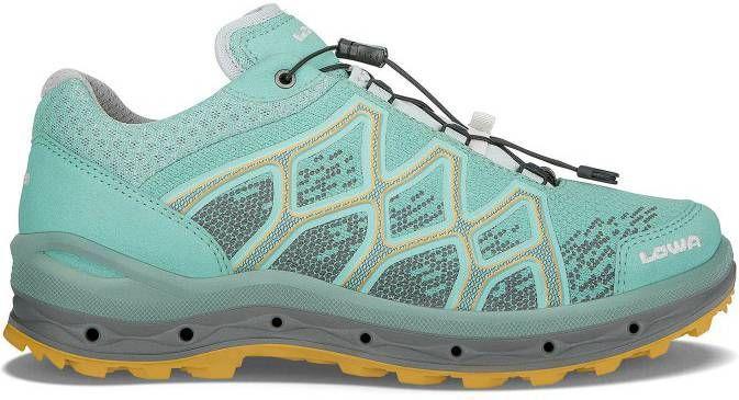 Lowa Trailrunning schoen dames aerox gtx lo iceblue mandarin-schoenmaat 38 (uk 5) online kopen