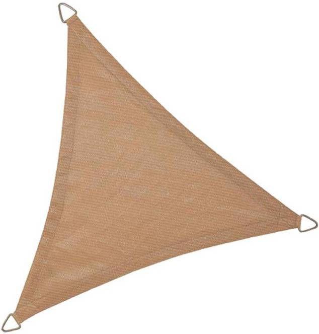Express Schaduwdoek driehoek 5 meter zand online kopen