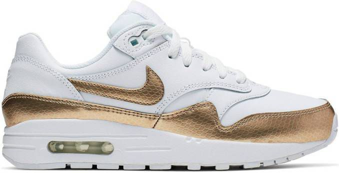 nike air max goud wit
