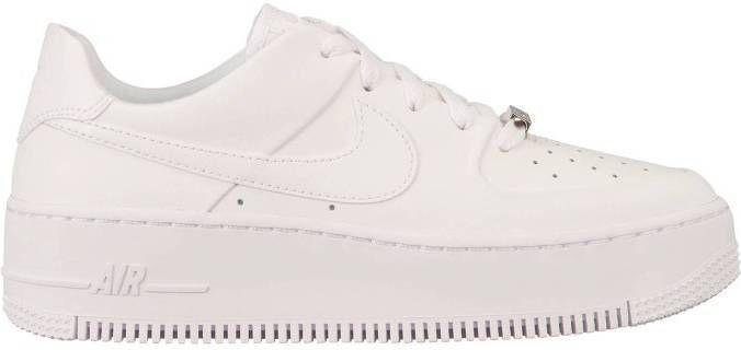 Koop Wit Nike Air Force 1 Sage Low Dames | JD Sports