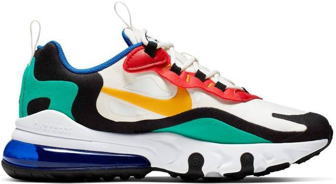 Nike Air Max 270 React Junior Wit Kind