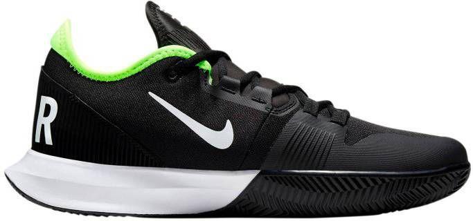 Nike Court Air Max Wildcard tennisschoenen zwart/wit/geel online kopen