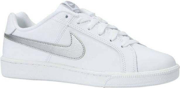 Nike Court Royale leren sneakers witroségoud