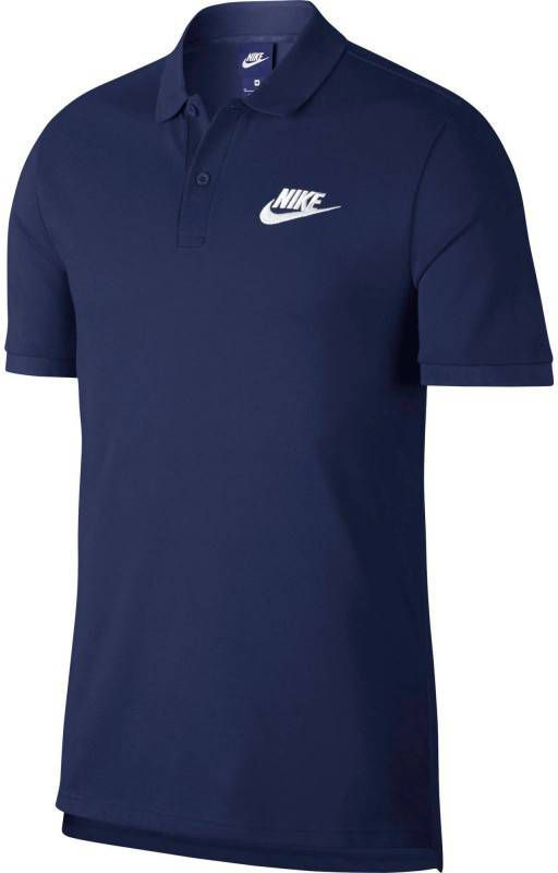Nike Foundation Polo Pique Heren Zwart Heren